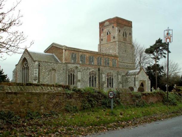 Some say Anne Boleyn's heart is in St. Mary's church, Erwarton, Suffolk. (Robert Edwards/CC BY SA 2.0)