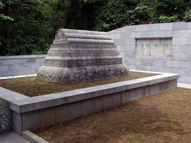 Zheng He's tomb. Nanjing, China. (Public Domain)