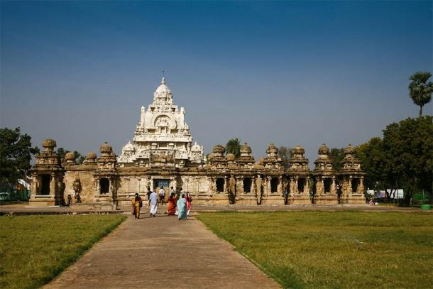 Kailasanathar Temple at Kanchipuram is one of the finest temples built by Narasimhavarman II Rajasimha. (anghifoto / Adobe Stock)