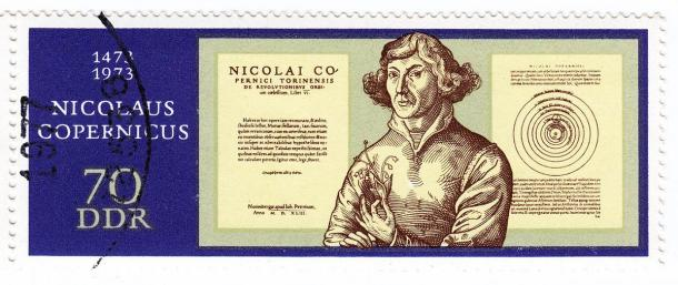 Nicolaus Copernicus stamp issued in 1973 AD by East Germany or the DDR, which clearly shows that this scientist was a hero and not just in Poland! (konstantant / Adobe Stock)