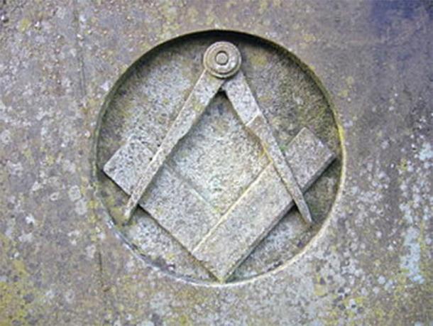 Masonic logo. (Public Domain)