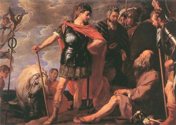 'Alexander and Diogenes' (1625-1630) by Gaspar de Crayer. (Public Domain)