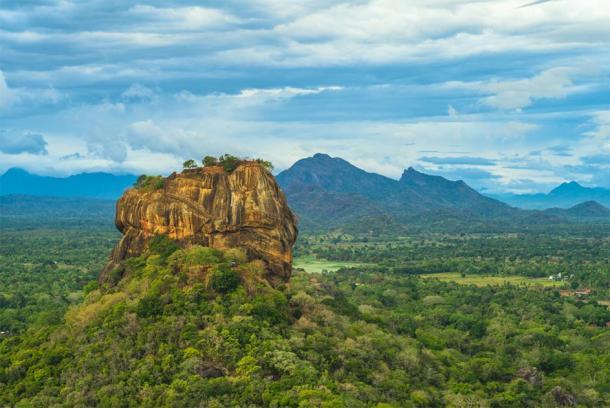 Sigiriya or Lion Rock in Sri Lanka. (Richie Chan / Adobe stock)