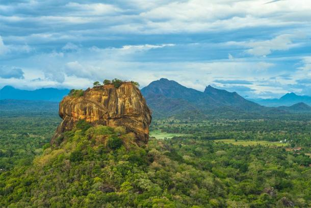Sigiriya or Lion Rock in Sri Lanka. (Richie Chan / Adobe stock)