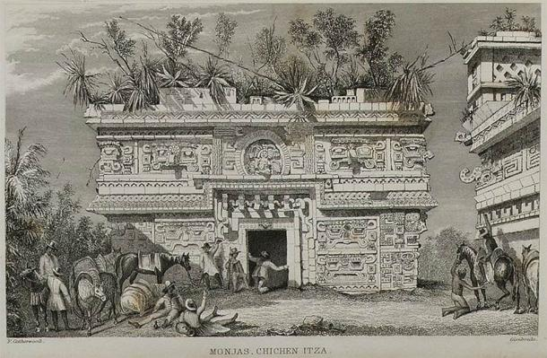 Page from the illustrated book Incidents of Travel in Yucutan by John Lloyd Stephens. (Metropolitan Museum of Art / CC0)