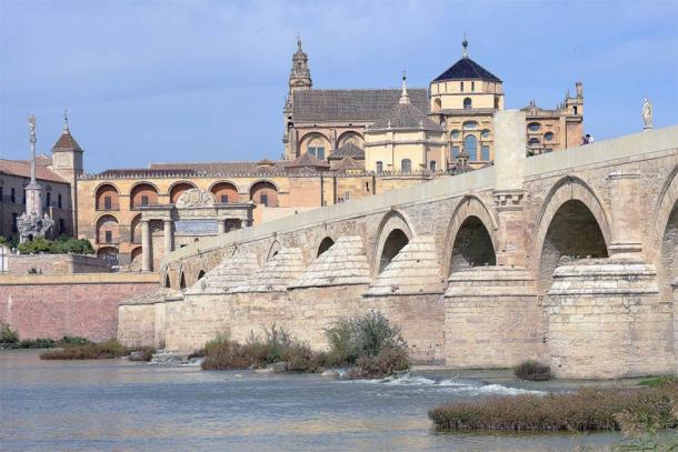 Olive oil produced around Cordoba, Spain, was shipped directly to Rome via the River Guadalquivir, known for its famous Roman bridge. (CC BY-SA 2.0)