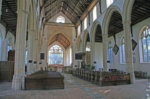 Another legend says that Anne Boleyn's heart is in the St Peter and St Paul's church, Salle, Norfolk. (David/CC BY 2.0)