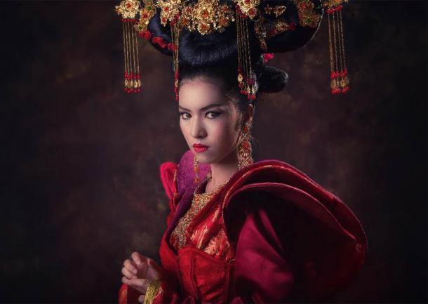 A Chinese empress. (wichansumalee /Adobe Stock)
