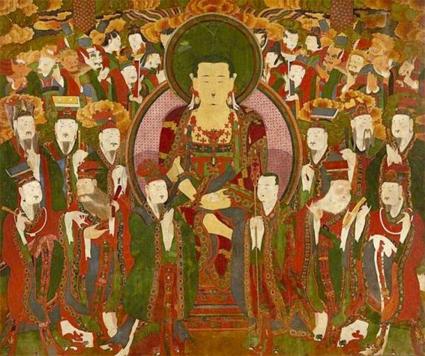 Ksitigarbha was the bodhisattva who ruled the underworld. (Grampus / Public Domain)