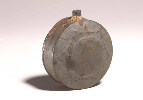Islamic healing pilgrim flask. (British Museum / CC BY-SA 4.0)