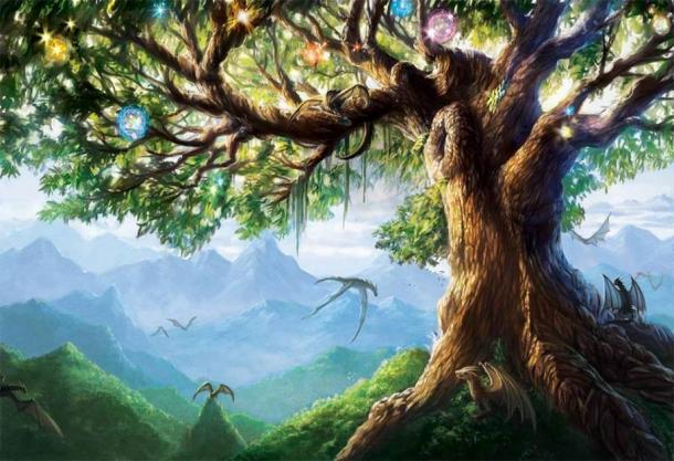 Yggdrasil, the ancient Norse Tree of Life. (Alayna/ Deviant Art)