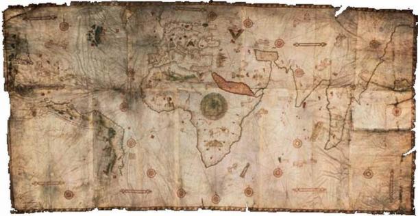 De Canerio Map. (Public Domain)