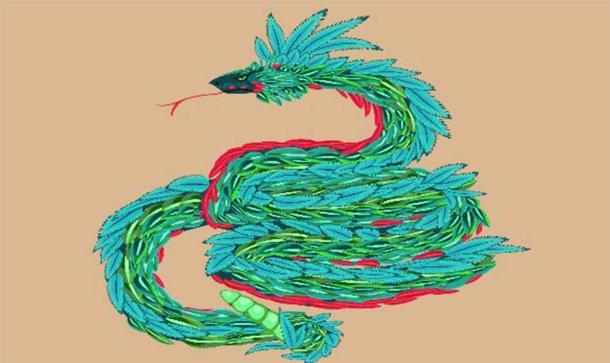 Quetzalcoatl, the plumed serpent. (Kazakova Maryia /Adobe Stock)