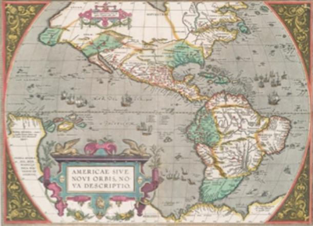 Ancient map of the Americas from 1606. (Abraham Ortelius / Public domain)
