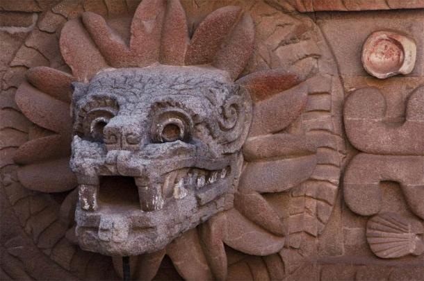 Quetzalcoatl head at Teotihuacan. (Josue /Adobe Stock)