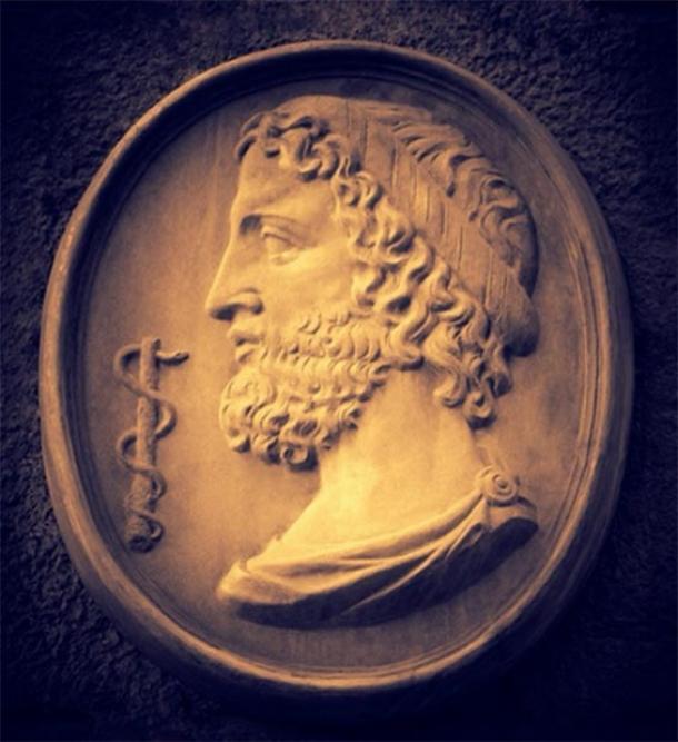 Asclepius - the ancient healer, god of medicine. (Repina Valeriya /Adobe Stock)