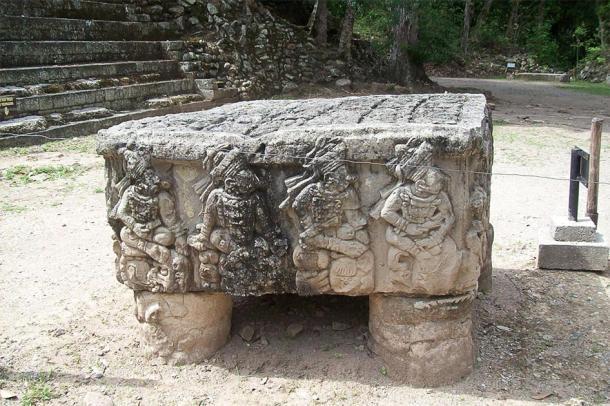 Altar Q at the Rosalila Temple. (Simon Burchell / CC BY-SA 2.0)