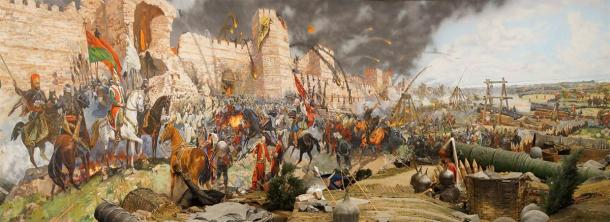 The Fall of Constantinople in 1453 was the end of the Constantinople's great chain barrier. (cascoly2 / Adobe Stock)