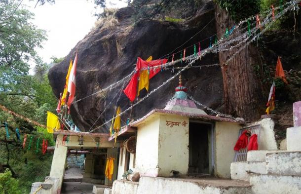 The fifth and final temple on the Panch Kedar pilgrimage is Kalpeshwar Temple. (Sushant Pandey / Knowledge of India)