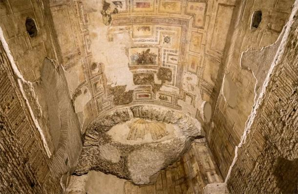 Esquiline Hill is home to the remains of the Domus Aurea, a giant house of gold built by Emperor Nero, and one of the best sources of surviving ancient Roman frescoes. (steheap / Adobe Stock Photo)