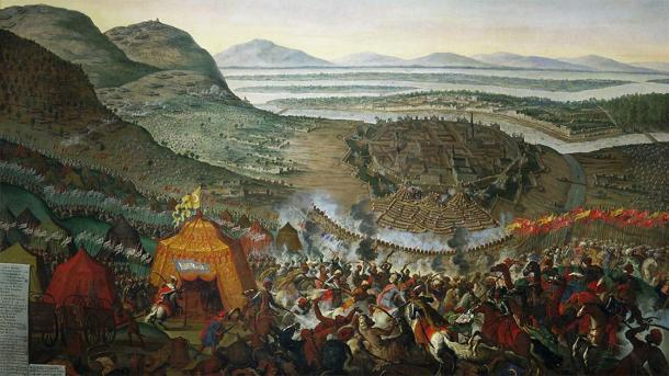 The second siege of Vienna by the Ottoman Empire. (Qbli2mHd / Public Domain)