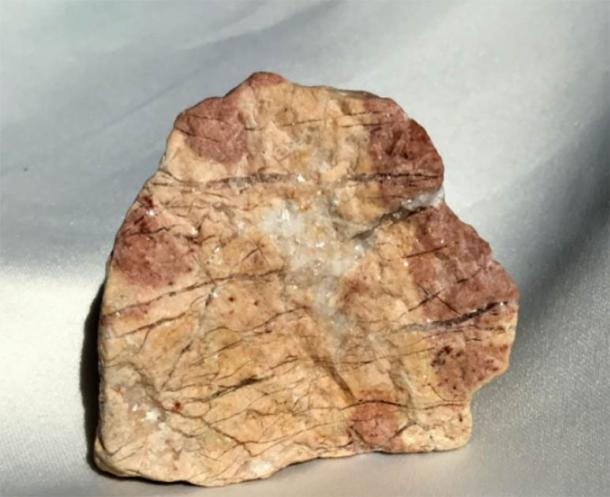 Photo 7A. ~2X2 inch artifact with quartz crystals from Colorado Front Range area. (Author provided)