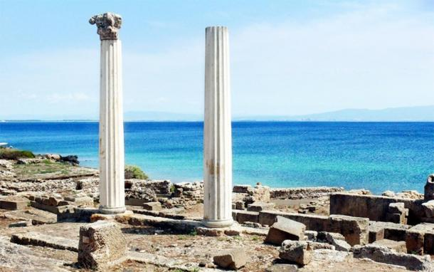 Ruins of the Phoenician colony of Tharros. (Author provided)