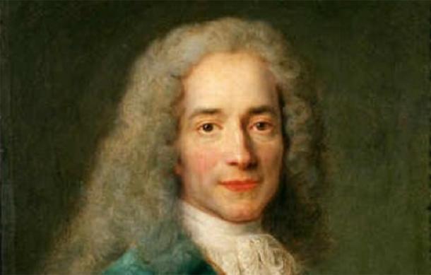 Portrait of François-Marie Arouet aka Voltaire by Nicolas de Largillière, c. 1724 (Public Domain)