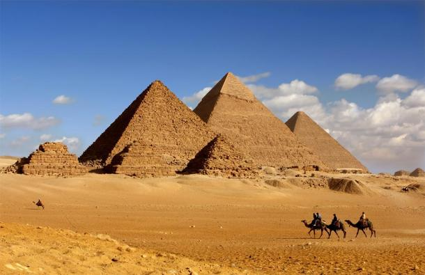 The Great Pyramids of Giza, Egypt. (sculpies / Adobe stock)