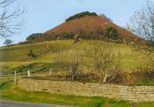 The tumulus of Langdale End, Scarborough, North Yorkshire. (Author provided)