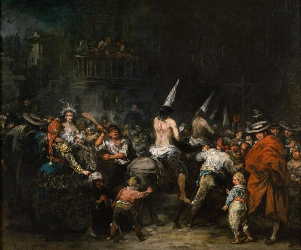 """Condemned by the Inquisition"" by Eugenio Lucas"