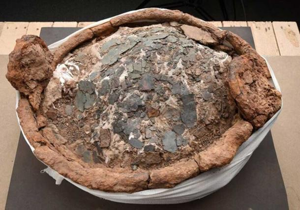 The interior of one of the Iron Age cauldrons (Image: University of Leicester)