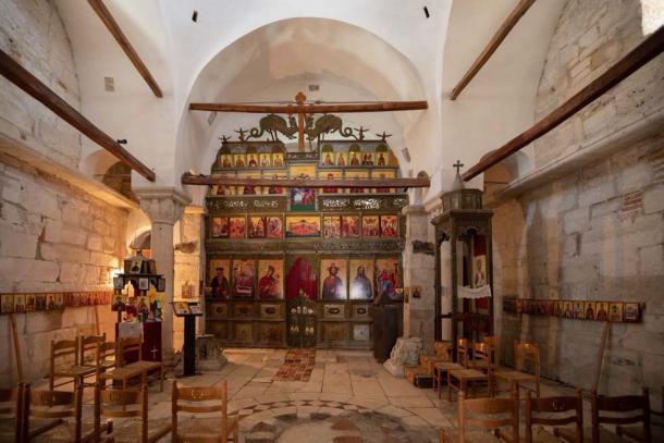Interior of St Mary's Church, Apollonia (Guilio / Adobe Stock)