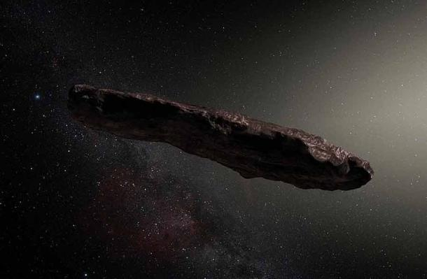 In 2017, Hawaiian astronomers discovered the first ever interstellar object as it passed through our solar system and they named it Oumuamua, which means messenger from the distant past. (nagualdesign / CC BY-SA 4.0)
