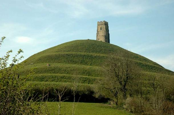 Avalon? The flat Somerset Levels are dominated by Glastonbury Tor.