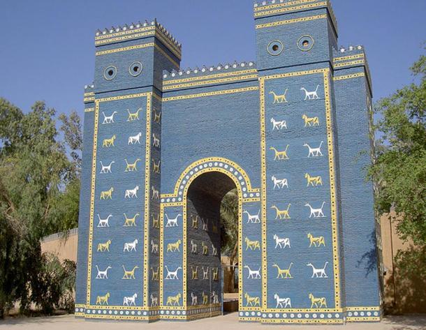 Replica of the Ishtar Gate, Babylon, Iraq