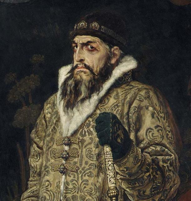 Ivan The Terrible – oil by Viktor Mikhaylovich Vasnetsov (1848 – 1926) (Public Domain)