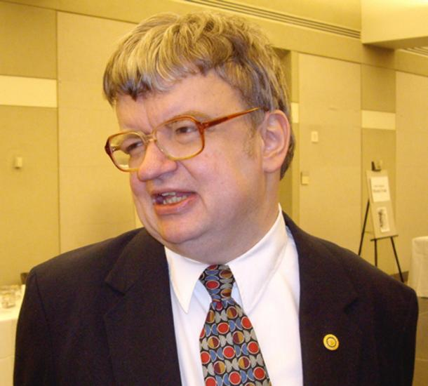 """Famous savant Kim Peek (1951-2009), the inspiration for the main character in the film """"Rain Man"""". (Dmadeo / CC BY-SA 3.0)"""