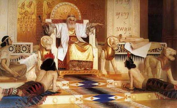 """Vanity of vanities; all is vanity."" Old and meditative king Solomon by Isaak Asknaziy."