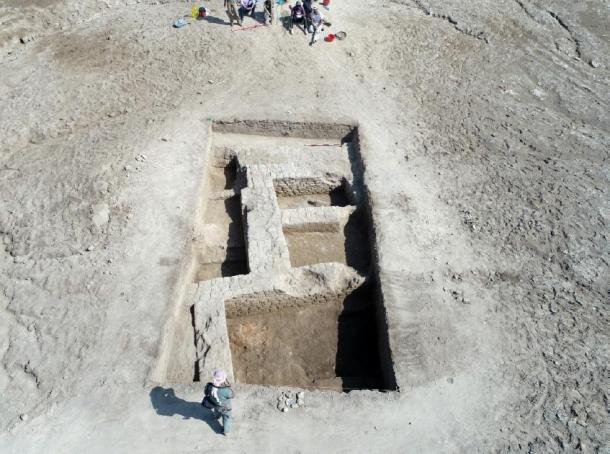 A large temple, some residential districts and a large manufacturing center have been excavated. (Universita di Pisa)