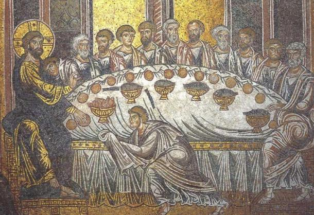 esus and disciples at the last supper