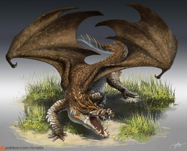 Did legends of dragons originate from the Nile crocodile?