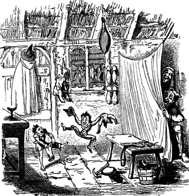 'Elves and the Shoemaker', originally from 'The Book of Fables and Folk Stories', by Horace E. Scudder