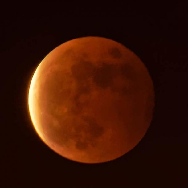 Libulan became a part of the sky forever as the copper moon