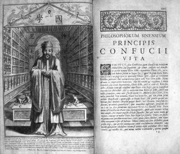 Life and Works of Confucius by Prospero Intorcetta, 1687.