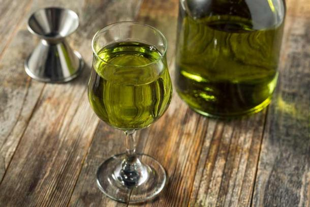 The world-famous Chartreuse liqueur made by a select few Carthusian charterhouses. (Brent Hofacker / Adobe Stock)