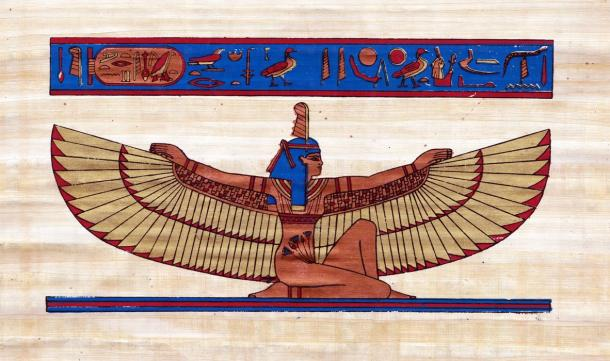 Image result for maat goddess