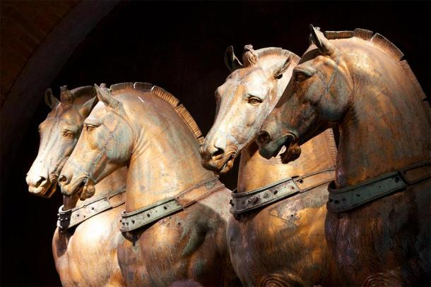 The magnificent bronze horses of St. Mark's Basilica. (Nick Thompson / CC BY-NC-SA 2.0)