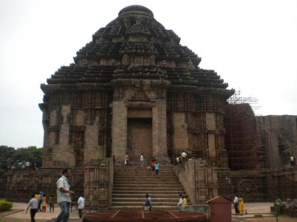 The majestic Konârak  Sun Temple, a UNESCO Wolrd Heritage site