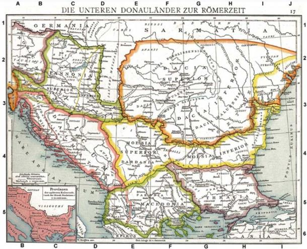 The Roman provinces of Illyricum. (DIREKTOR / Public Domain)